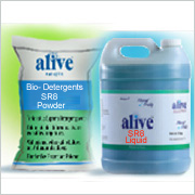Bio-Detergents SR8 – Powder & Liquid