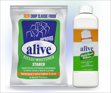 alive Khadi Whitener Starch