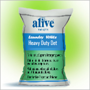 alive Laundry  White Heavy Duty Det